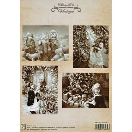 Nellie Vintage A4 - dárečky
