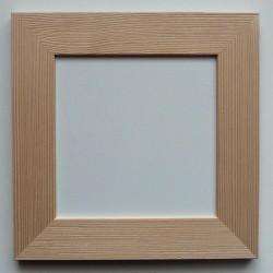 Rámeček drásané dřevo 4cm 1/4 velk.ubrousku