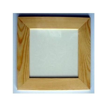Rámeček dřevo 4cm - 1/4 velkého ubrousku