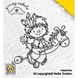 Transp.razítko Klučina s koníkem (Nellie Snellen)