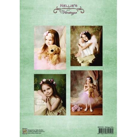 Nellie Vintage A4 - dívky