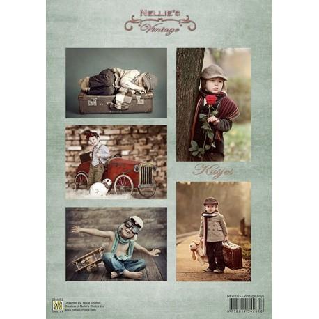 Nellie Vintage A4 - chlapci