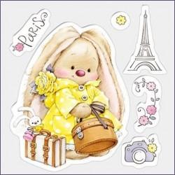 Transp.razítka - Bunny a Paříž