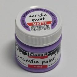 Akrylová barva Pentart 50ml - fialková, matná