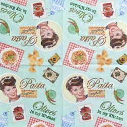 Pasta, Spaghetti 25x25