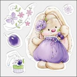 Transp.razítka - Bunny a švestky