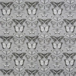 Motýli černobílí 33x33