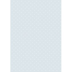 Papír rýžový A4 Celoplošný sv.modrý s puntíky