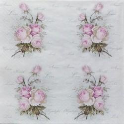 Růžičky LOVE 33x33