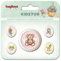 Ozdobné rámečky Kids Fun 5ks