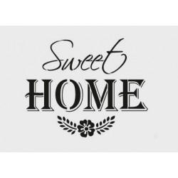 Šablona - Sweet Home, vel. A4