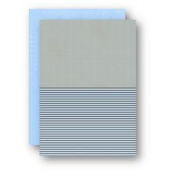 Papír na pozadí A4 - pískový s tečkami