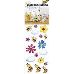 3D Deko transfers samolepky - Včelky