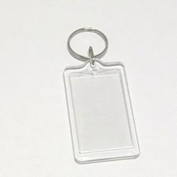 Akrylová klíčenka Obdélník