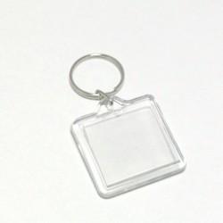 Akrylová klíčenka Čtverec