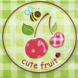 Cute fruit 33x33