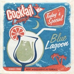 Cocktail Blue Lagoon 25x25