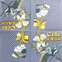 Cote d´Azur 33x33