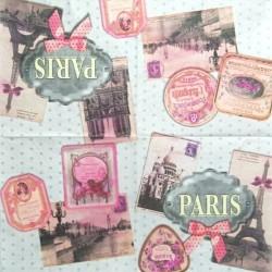 Štítek Paris 33x33