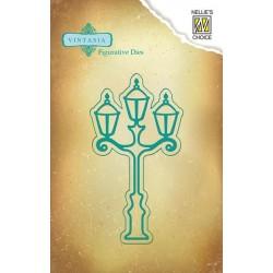 Vyřezávací šablona - Pouliční lampa Nellie´s Choice