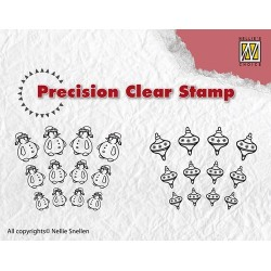 Transp.razítka - Precision Sněhuláci (Nellie Snellen)