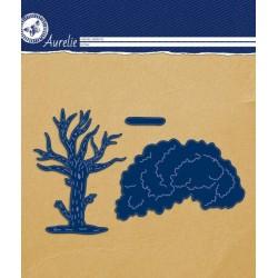 Vyřezávací šablony Aurelie - strom 3ks