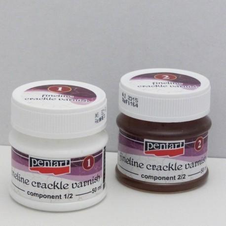 Penta Crack - porcelán.krakel. lak 2-fázový (50)