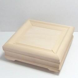 Dřevěná krabička obraz - čtvercová