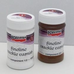 Penta Crack - porcelán.krakel. lak 2-fázový (100)