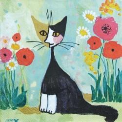 Kočka malovaná 33x33