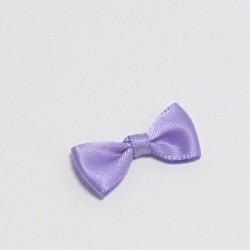 Malá saténová mašlička fialová