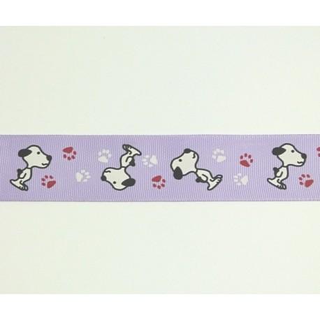 Stužka dekorační 30mm - se Snoopym