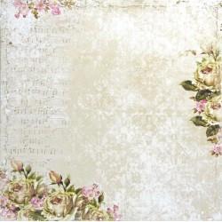 Dům růží, hudba 30,5x30,5 scrapbook
