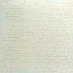 Nezapomeň na mě, písmo 30,5x30,5 scrapbook