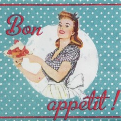 Bon Appétit! 33x33