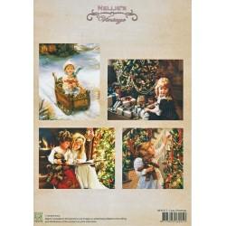 Nellie Vintage A4 - Pohodové Vánoce