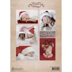 Nellie Vintage A4 - vánoční s miminky