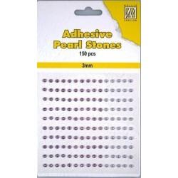 Samolepící perličky 3mm - dofialova Nellie´s Choice