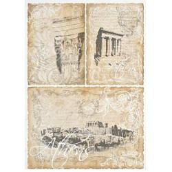 Papír rýžový A4 Athens, tři motivy