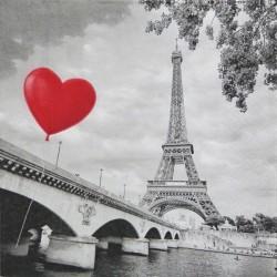 Love Paříž 33x33