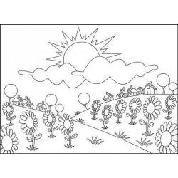 Embos.kapsa - letní květiny (Nellie´s Choice)