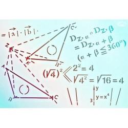 Šablona - Matematika, vel. A4