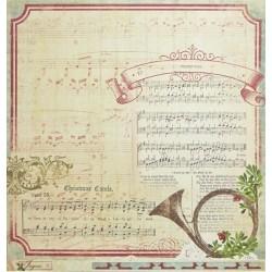Joyous Carols, oboustranný 30,5x30,5