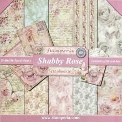 Sada papírů 30,5x30,5 170g Shaby Rose