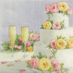 Svatební dort 33x33
