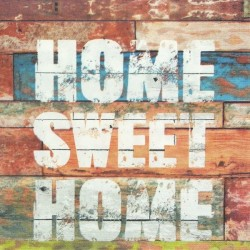 Home Sweet Home Graffiti 33x33