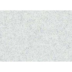 Moosgumi třpytivá 20x29cm bílá, 1 list