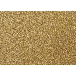 Moosgumi třpytivá 20x29cm zlatá, 1 list