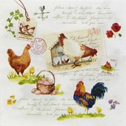 Slepičí farma, písmo 33x33