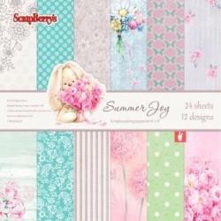Sada papírů Summer Joy 15x15